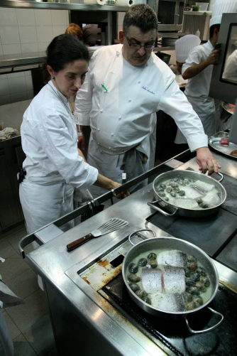 In the Arzak kitchen