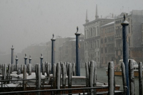 Cold and beautiful Venice