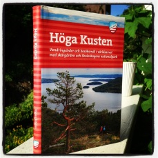 My book on the trekking in the High Coast of Sweden